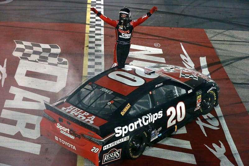 Erik Jones signs extension, remaining with Gibbs in 2020 - The Checkered Flag