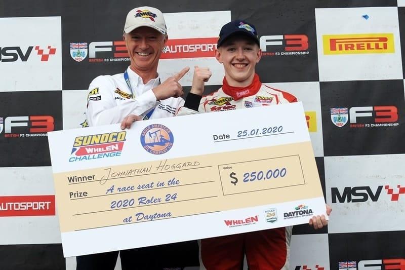 Johnathan Hoggard wins Sunoco Wheelen Challenge