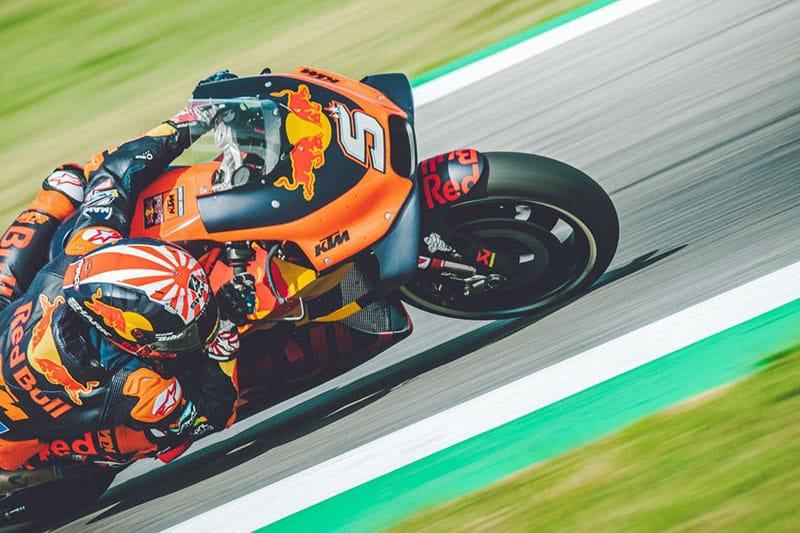 KTM Drop Johann Zarco