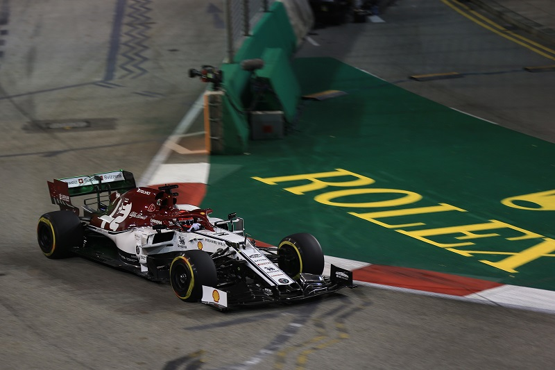 """Kimi Räikkönen: """"It's hard to say where we stand as our first session was quite messy"""" - The Checkered Flag"""