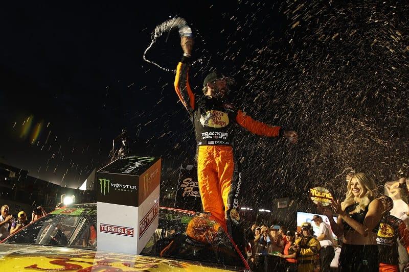 Morning Roundup: Truex Jr. wins first NASCAR playoff race