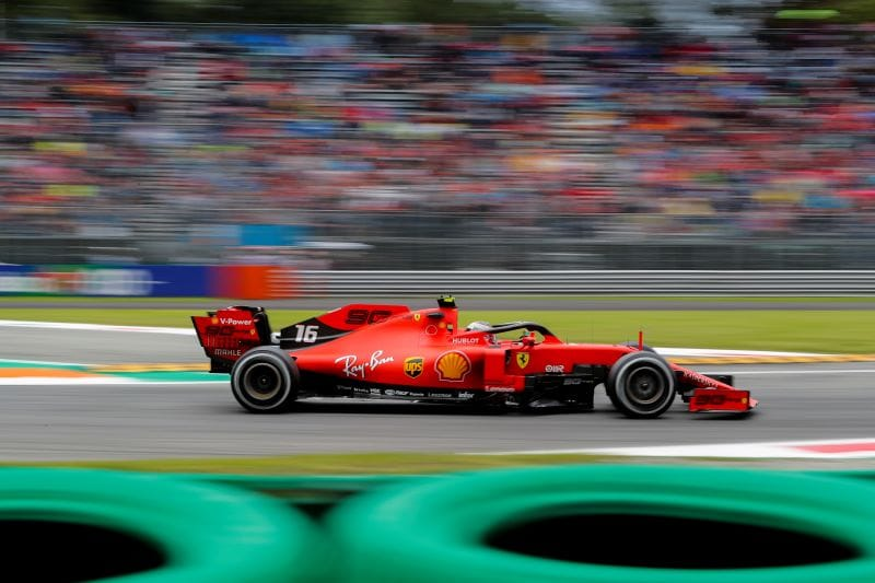 Leclerc takes pole at Monza as farcical final runs hamper contenders - The Checkered Flag