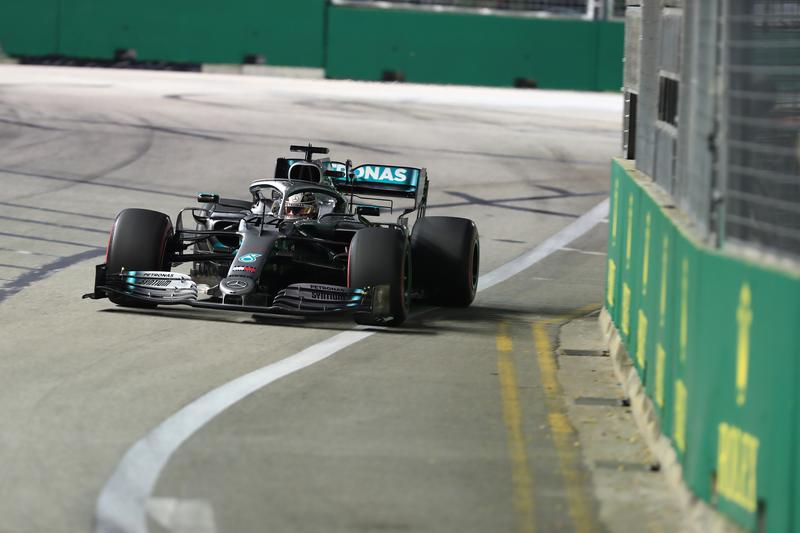 Mercedes Left Disappointed after Missing Out on Pole Position in Singapore - The Checkered Flag