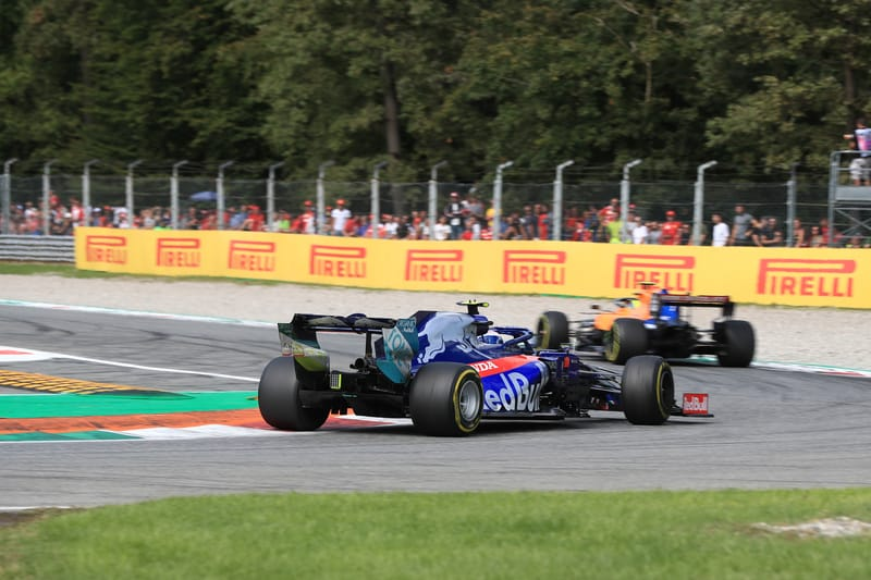 Toro Rosso's Gasly - Italian GP quite an eventful day - The Checkered Flag