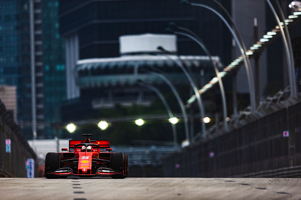 """""""Our rivals look very fast, certainly faster than us"""" - Sebastian Vettel - The Checkered Flag"""
