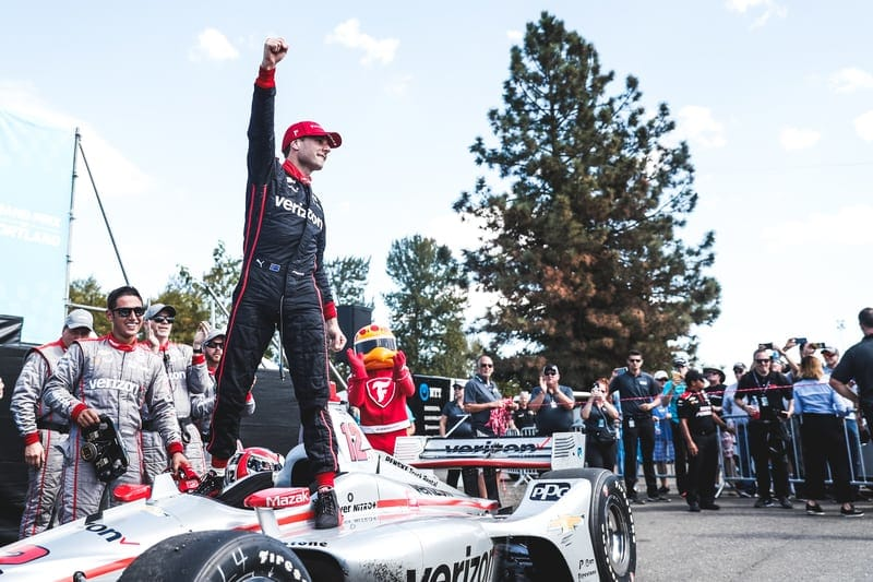Power cruises to his second win of the year at Portland - The Checkered Flag