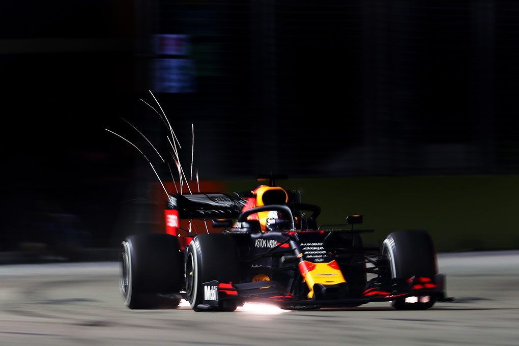 Red Bull have mixed opening day at the Singapore Grand Prix - The Checkered Flag