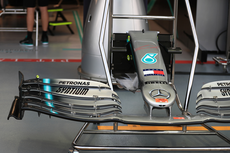 AMG Mercedes, Singapore - Paddock