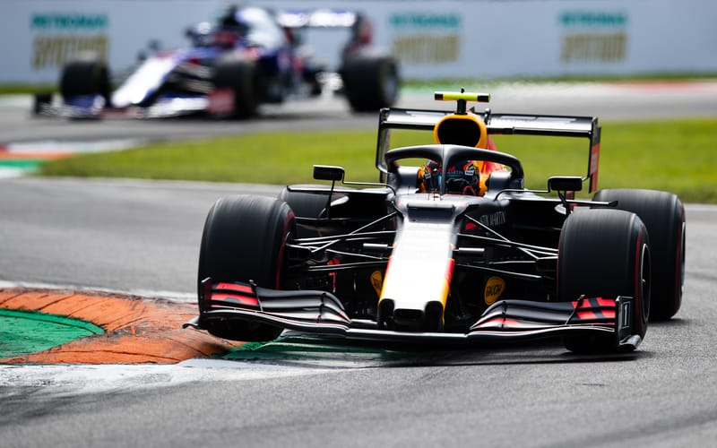 """Alex Albon """"feeling more competitive"""" with Red Bull after Monza top six - The Checkered Flag"""