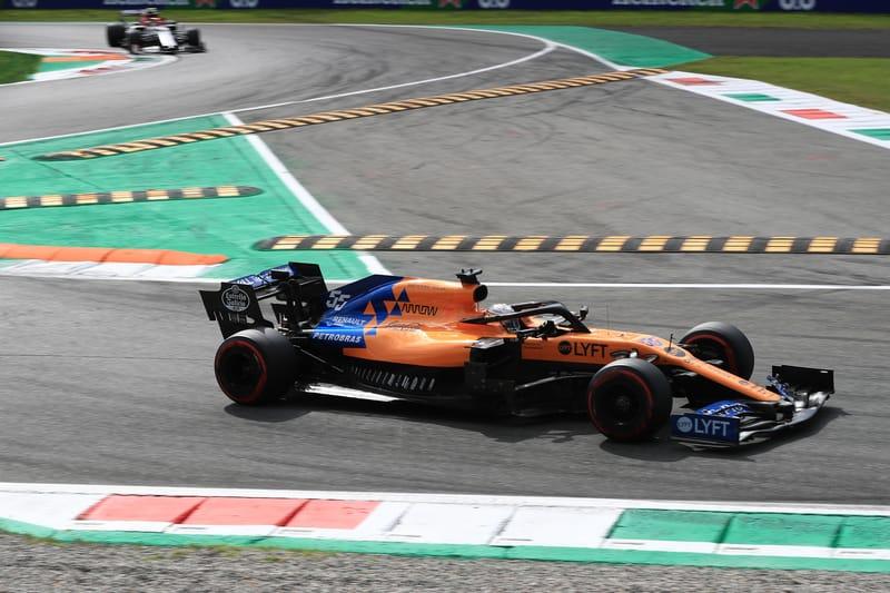 Carlos Sainz Jr. - McLaren F1 Team in the 2019 Formula 1 Italian Grand Prix - Autodromo Nazionale Monza - Race