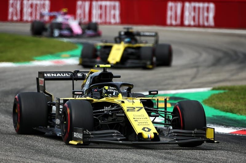 """Double top-five in Monza """"nice reward for everyone"""" at Renault - Nico Hülkenberg - The Checkered Flag"""