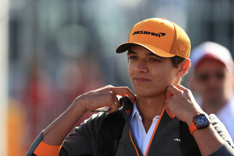 """""""I've been doing a lot of prep to get ready for Singapore"""" - Lando Norris - The Checkered Flag"""