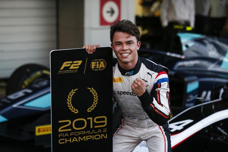 Nyck de Vries - ART Grand Prix in the 2019 FIA Formula 2 Championship - Sochi Autodrom - Feature Race - Parc Ferme