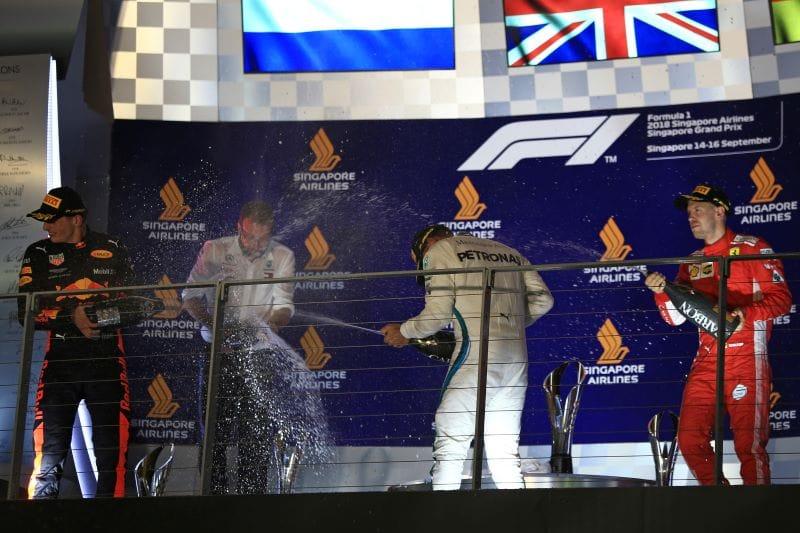 Hamilton, Verstappen and Vettel