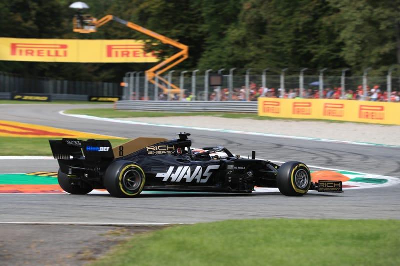 Romain Grosjean - Haas F1 Team in the 2019 Formula 1 Italian Grand Prix - Autodromo Nazionale Monza - Race
