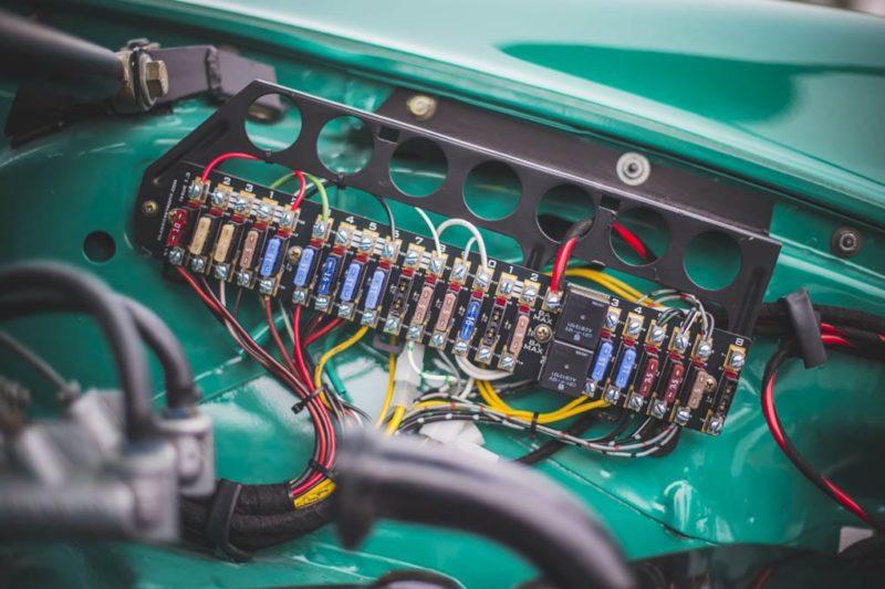 1977 PORSCHE 911 RSR Recreation electrics