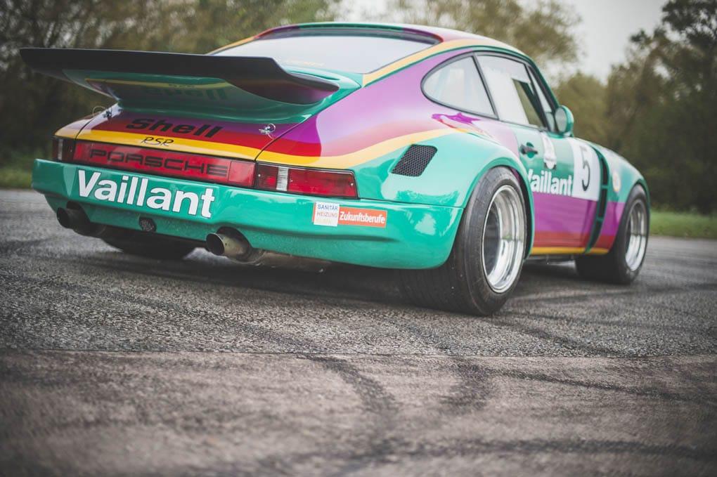 1977 PORSCHE 911 RSR Recreation rear angle