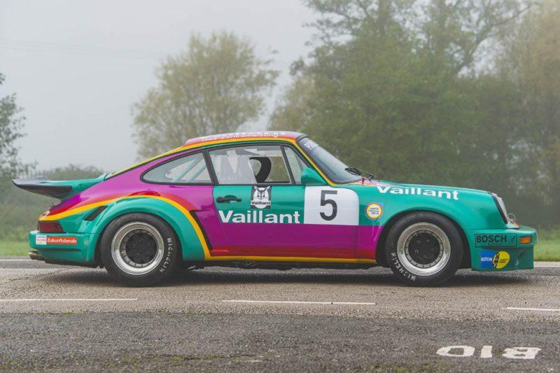 1977 PORSCHE 911 RSR Recreation rear detail side