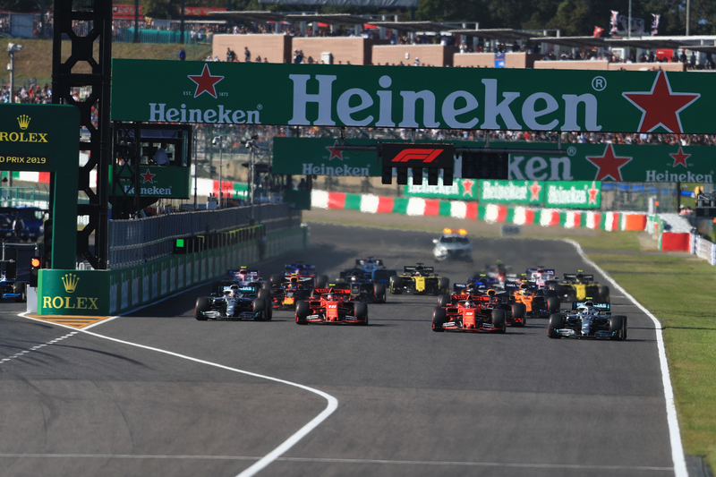 2019 Formula 1 Japanese Grand Prix - Suzuka International Racing Course - Race