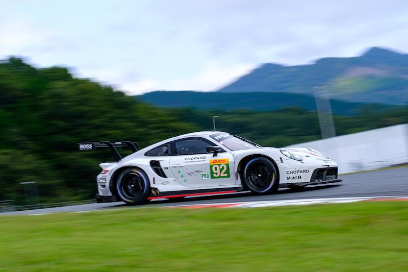 #92 Porsche GT Team on track at Fuji Speedway, WEC, 2019