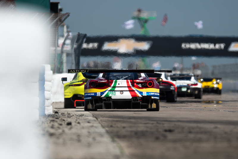 Formation Lap at the 2019 1,000 Miles of Sebring, WEC