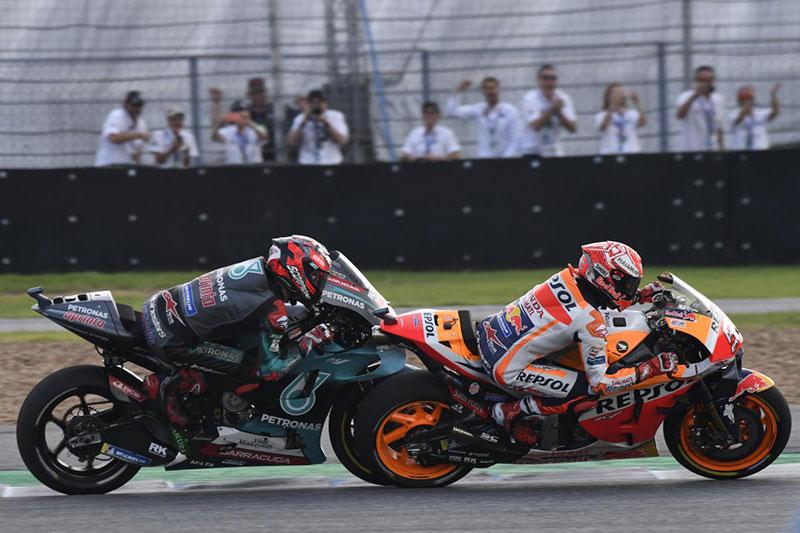 Can Quartararo beat Marquez at Motegi