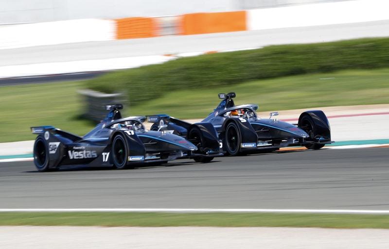 Nyck De Vries and Stoffel Vandoorne - Mercedes-Benz EQ Formula E team