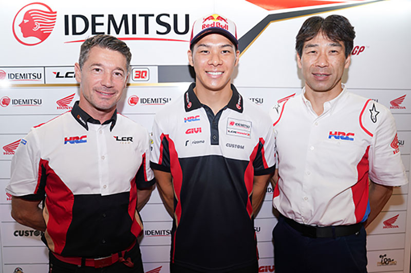 Takaaki Nakagami signs one-year contract extension with HRC