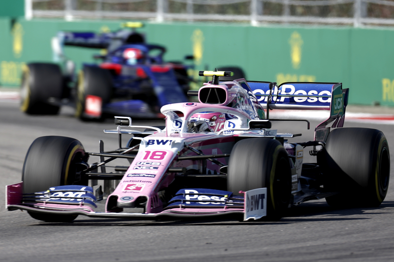 Racing Point's Perez caused 'confusion' after collision as Stroll demoted to eleventh - The Checkered Flag