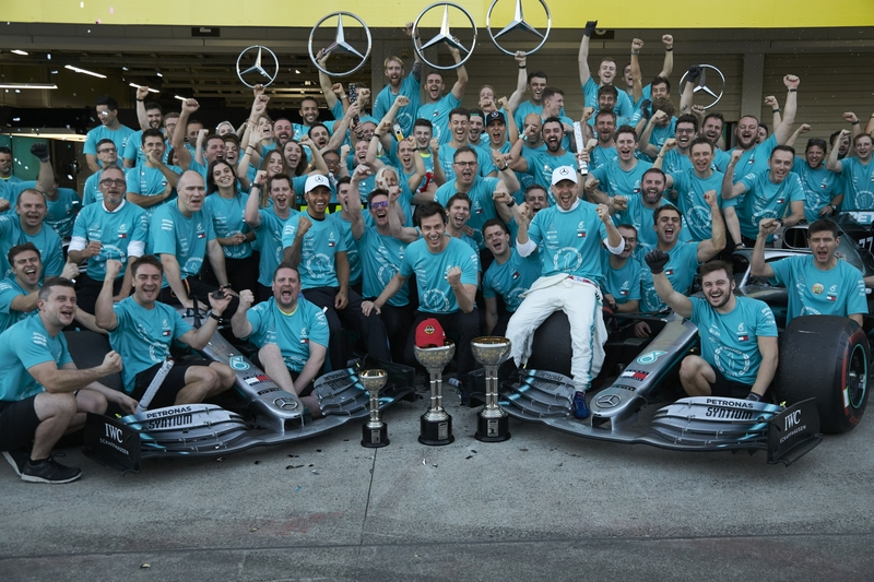 Mercedes dedicate sixth constructors title to Lauda - The Checkered Flag