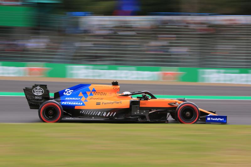Carlos Sainz Jr. - McLaren F1 Team in the 2019 Formula 1 Japanese Grand Prix - Suzuka International Racing Course - Free Practice 2