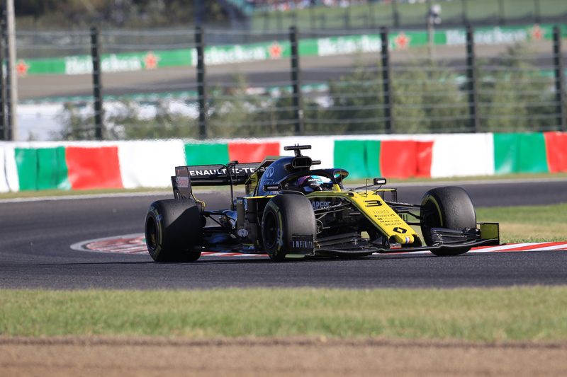 Daniel Ricciardo - Renault F1 Team in the 2019 Formula 1 Japanese Grand Prix - Suzuka International Racing Course - Race