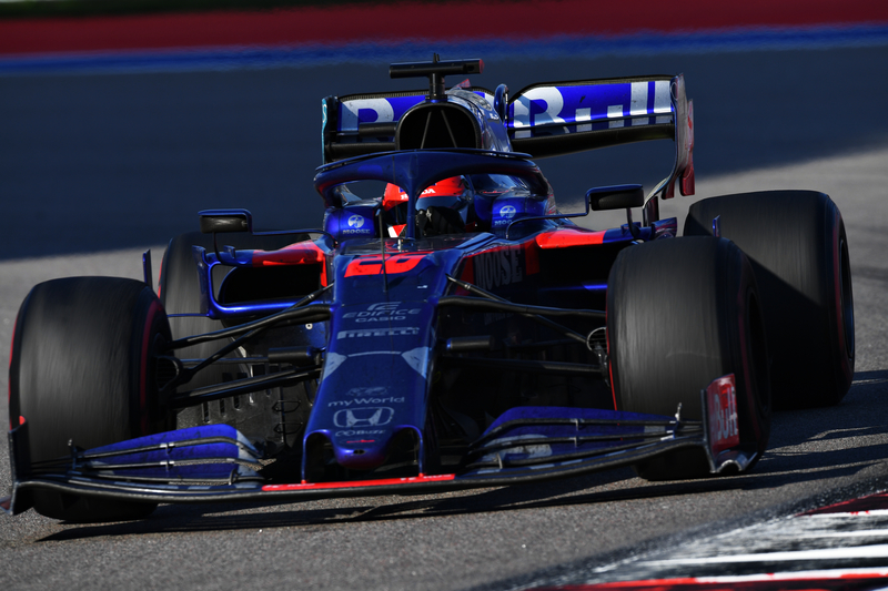 Daniil Kvyat - Red Bull Toro Rosso Honda in the 2019 Formula 1 Russian Grand Prix - Sochi Autodrom - Race