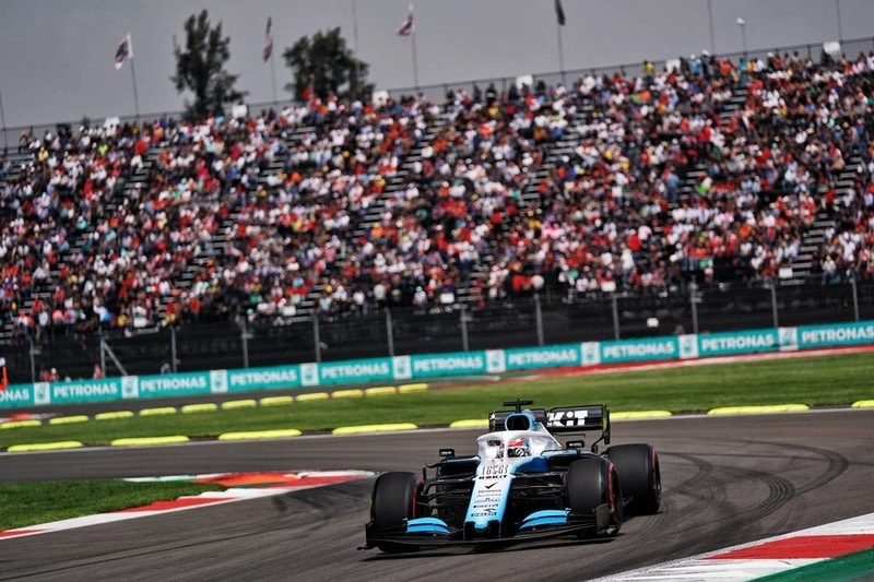 George Russell - Formula 1 - 2019 Mexico GP