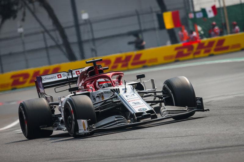 Kimi Räikkönen - Alfa Romeo Racing in the 2019 Formula 1 Mexican Grand Prix - Autodromo Hermanos Rodriguez - Race