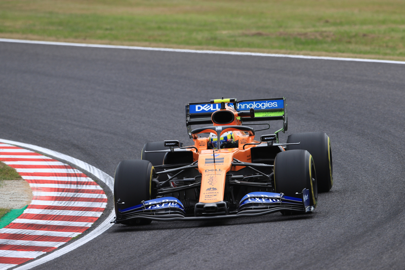 Lando Norris - McLaren F1 Team - 2019 Formula 1 Japanese Grand Prix - Suzuka International Racing Course- Free Practice 1