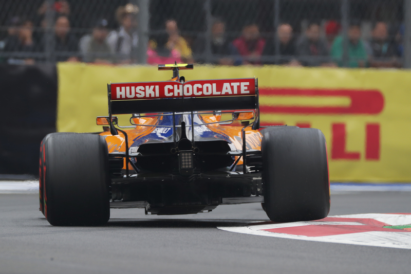 Lando Norris - McLaren F1 Team in the 2019 Formula 1 Mexican Grand Prix - Autodromo Hermanos Rodriguez - Race