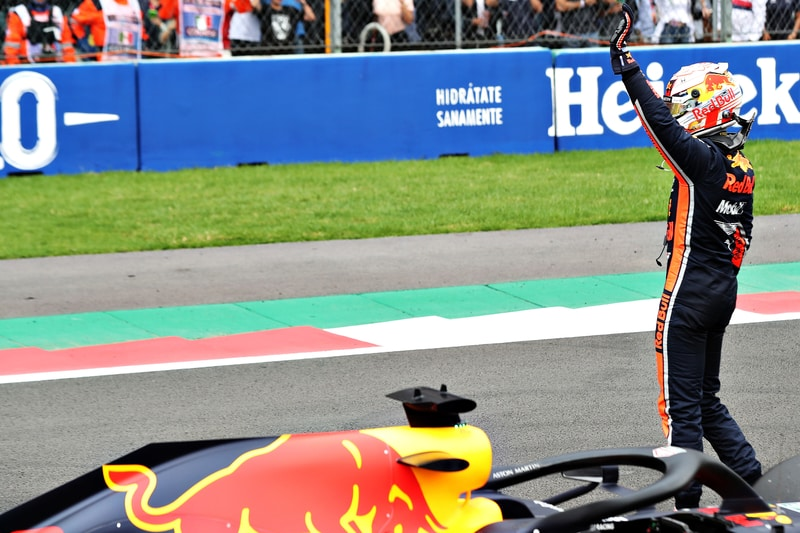 Max Verstappen - Formula 1 - 2019 Mexico GP