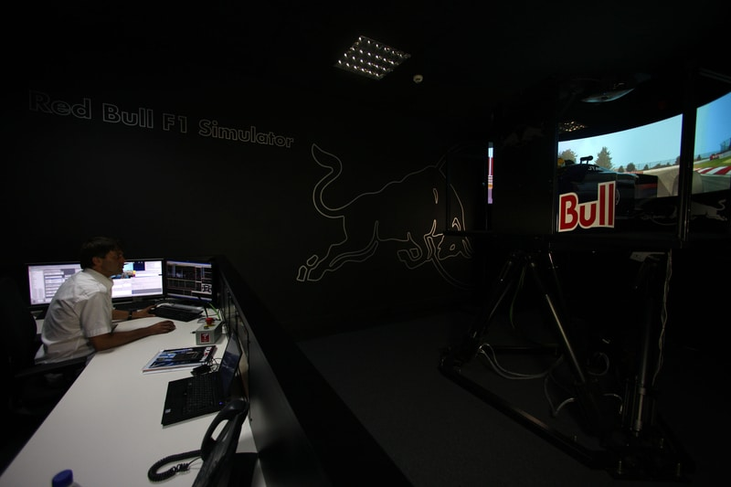 Red Bull Racing F1 Simulator