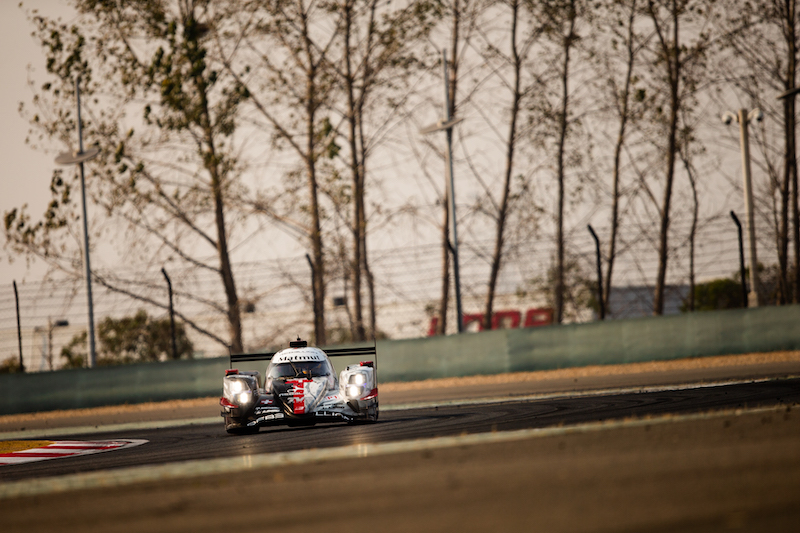 Rebellion Racing #1 on track at Shanghai International Circuit, race day 2019
