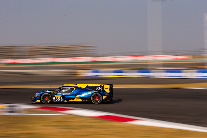 JOTA #38 on track at Shanghai International Circuit, race day 2019