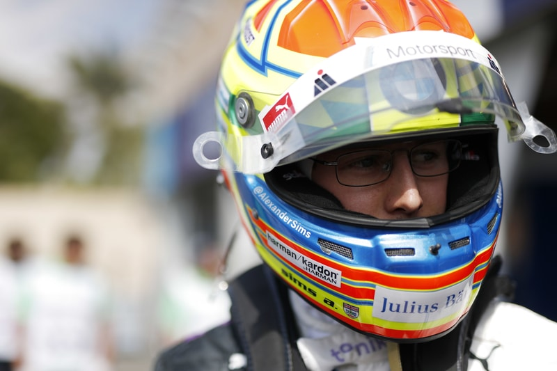 Alexander Sims on pole for race two in Diriyah