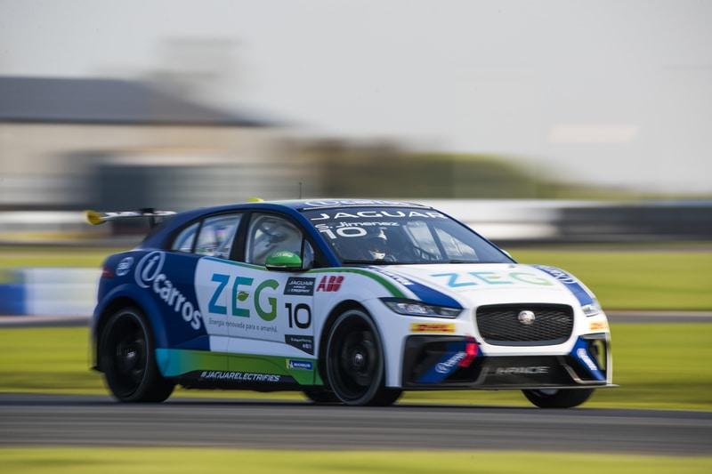Jaguar I-Pace eTrophy pre-season testing - Bedford Autodrome