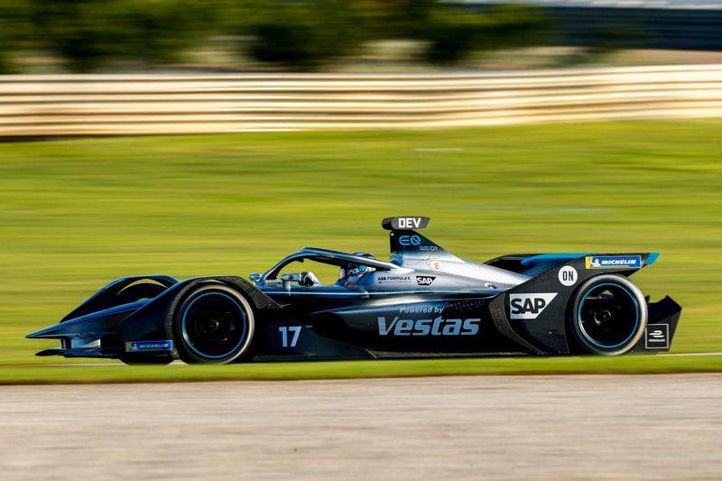 Mercedes-Benz Silver Arrow 01 Valencia