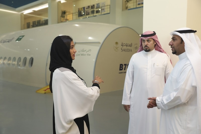 Reema Juffali meets Saudi Royal Family ahead of Jaguar I-Pace eTrophy debut