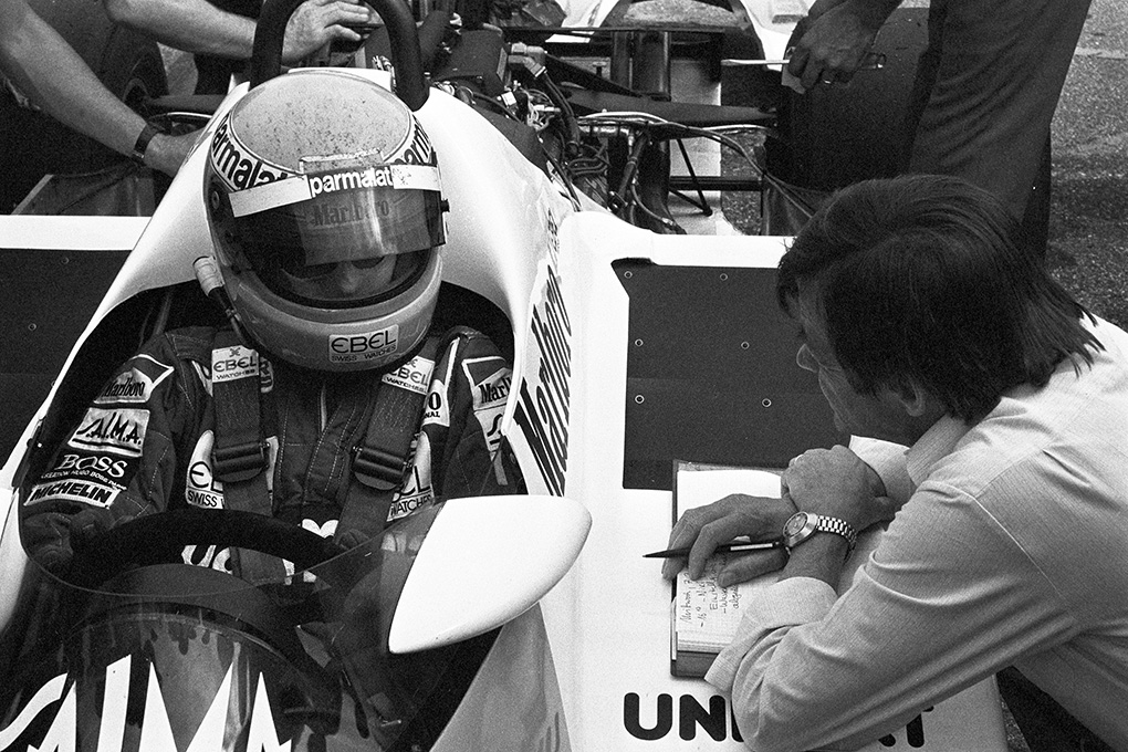 F1 Tests with the TAG-engine in Weissach, 1983