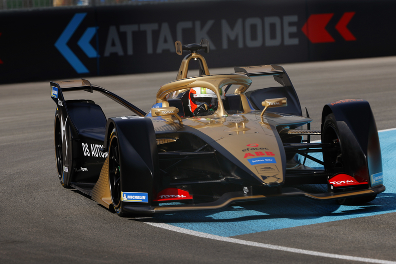 António Félix da Costa - DS Techeetah in the 2019 Ad Diriyah ePrix - Free Practice