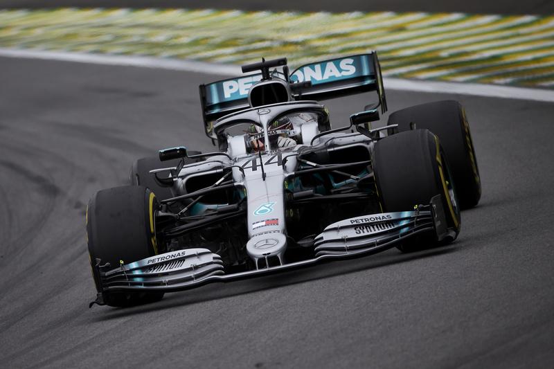 Lewis Hamilton - Mercedes-AMG Petronas Motorsport in the 2019 Formula 1 Brazilian Grand Prix - Autodromo Jose Carlos Pace - Free Practice 2