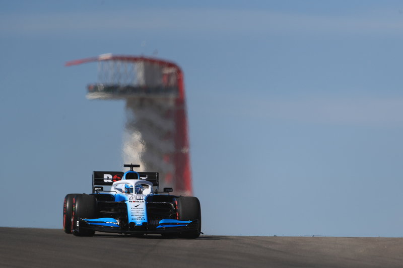 Nicholas Latifi - ROKiT Williams Racing in the 2019 Formula 1 United States Grand Prix - Circuit of the Americas - Free Practice 1