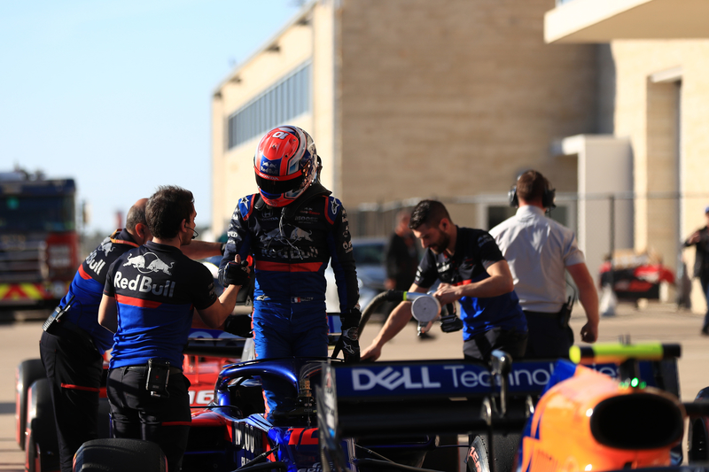 Pierre Gasly - Red Bull Toro Rosso Honda in the 2019 Formula 1 United States Grand Prix - Circuit of the Americas - Qualifying